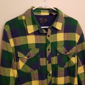 Fox Men's Large Flannel